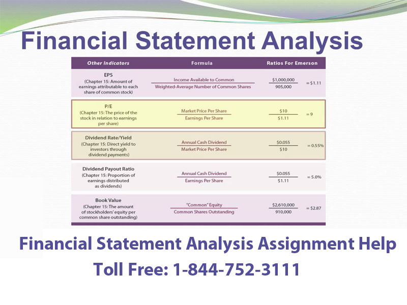 Financial Analysis Assignment